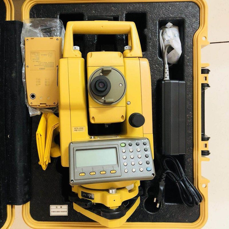 High Precision Used Surveying Equipment Topcon Total Station Gts-252
